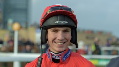 Harry Cobden: back-to-back winner of Aintree's Topham Chase