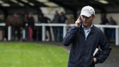 Dermot Farrington at the 2017 Goffs Orby Sale