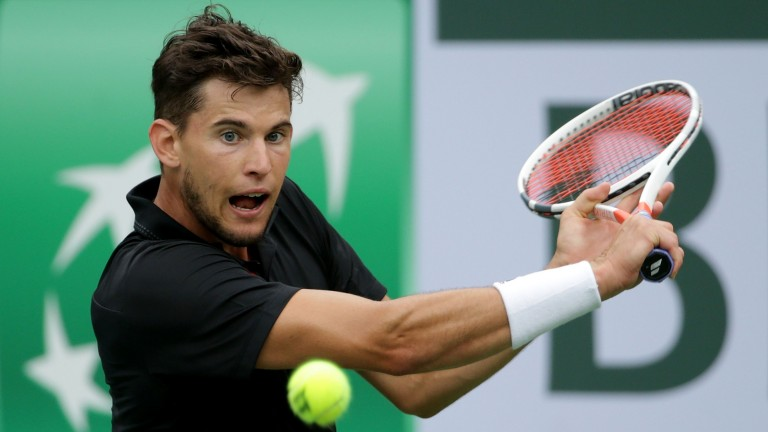 Young Austrian Dominic Thiem is improving year on yaer