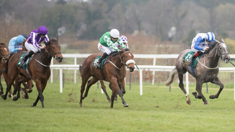 Who's Steph and Colin Keane win the 1,000 Guineas Trial at Leopardstown on Saturday