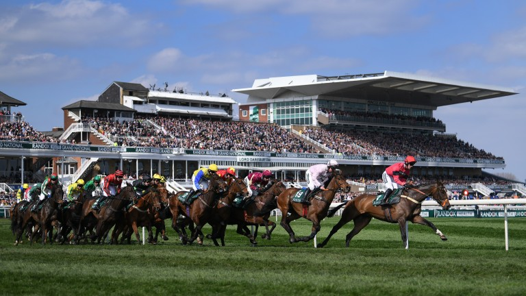 Aintree: one of several tracks racing today