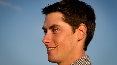 Emmet Mullins: sent out a double at Down Royal as spectators were welcomed back to the track