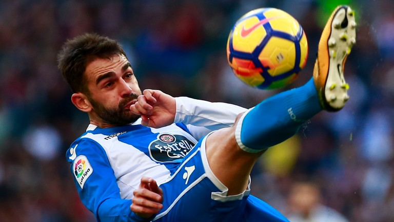 On-loan striker Adrian Lopez has scored four goals in Deportivo's last two matches
