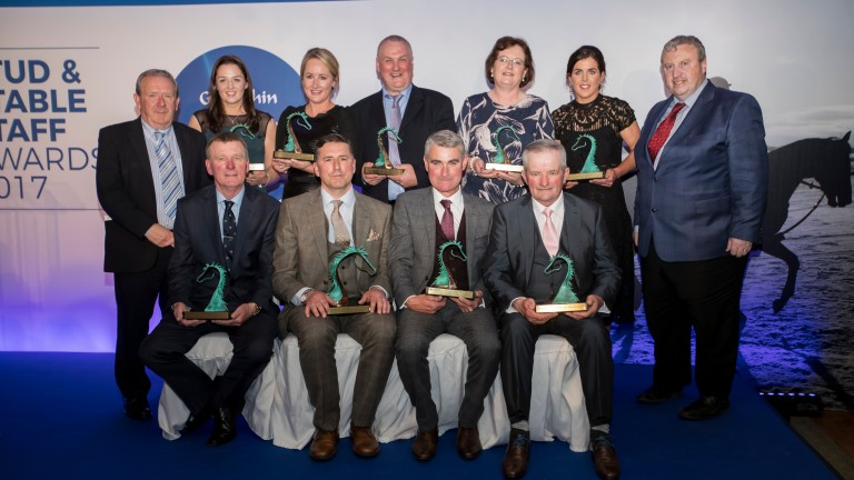 Horse racing: Team photo from the 2017 Godolphin Stud & Stable Staff Awards