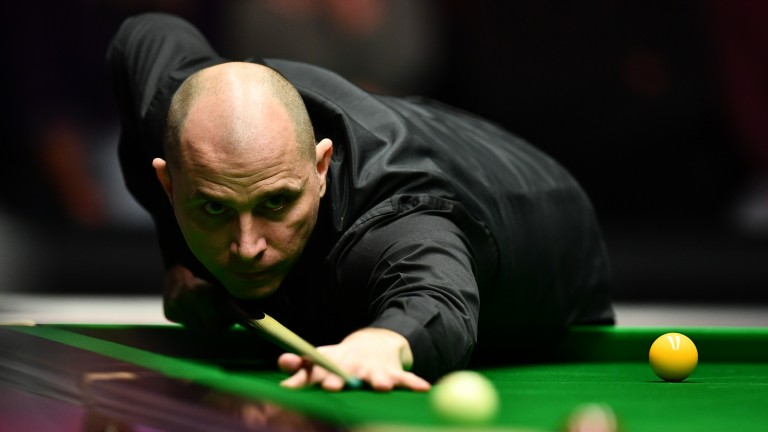 Joe Perry is in touching distance of a Crucible Theatre berth