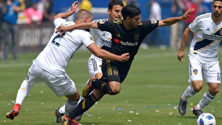 Los Angeles FC striker Carlos Vela