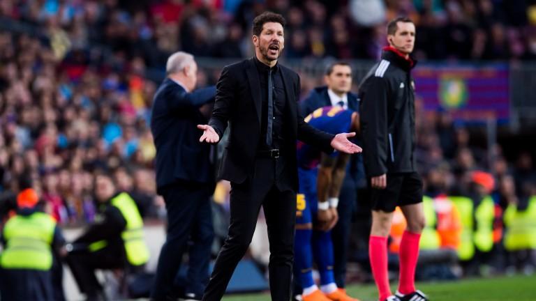 Atletico boss Diego Simeone