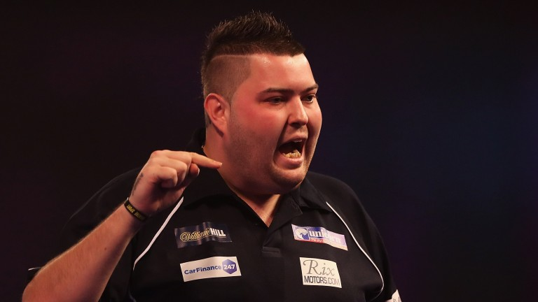 Michael Smith takes on Gary Anderson in Rotterdam