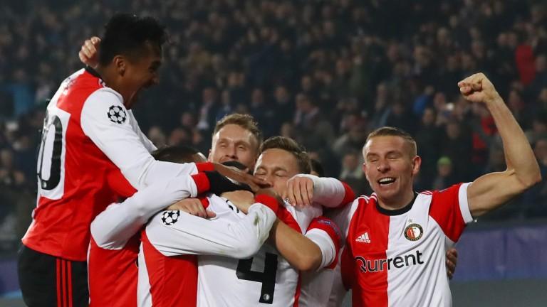 Feyenoord have scored 17 goals in winning their last five matches