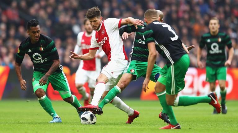Klaas-Jan Huntelaar of Ajax