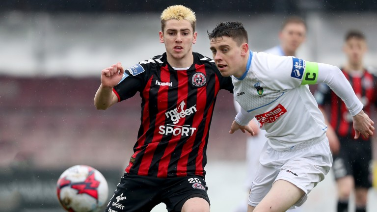 Bohemians youngster Dylan Watts (left)