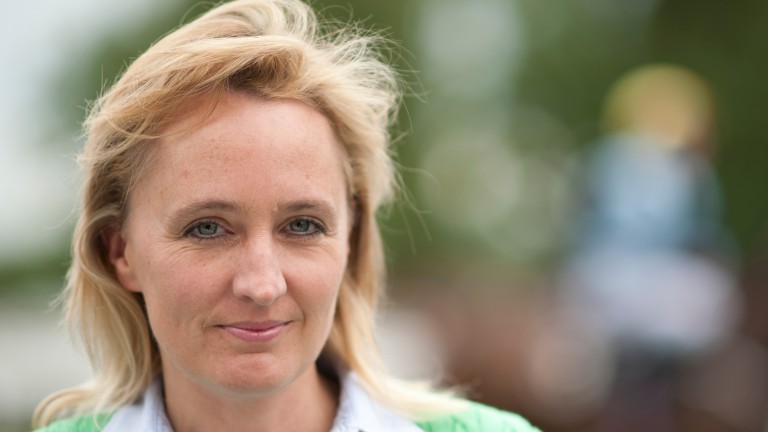 Heather Main: relieved at outcome and now aiming Island Brave at Ebor