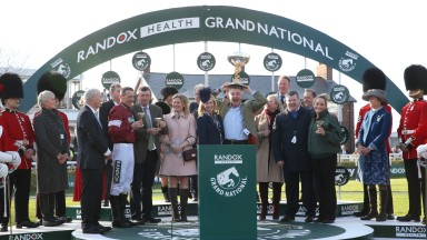 'He's given great days to so many people': Tiger Roll's connections celebrate Grand National success