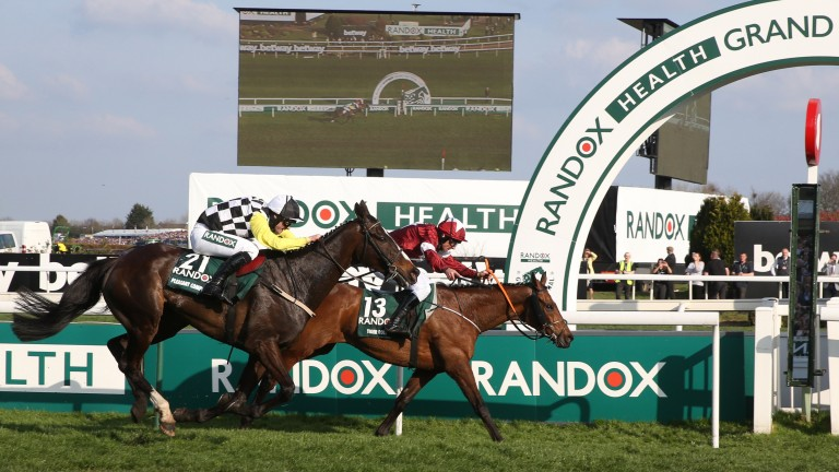 Tiger Roll pips Pleasant Company to win this year's Grand National
