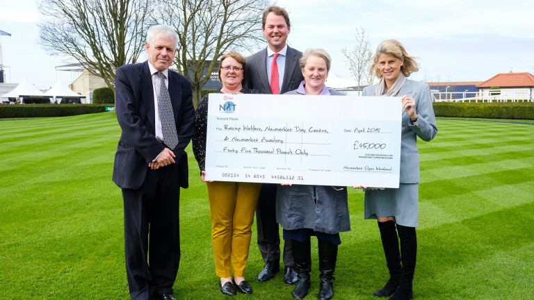 The 2017 Newmarket Open Weekend raised an impressive sum for local causes