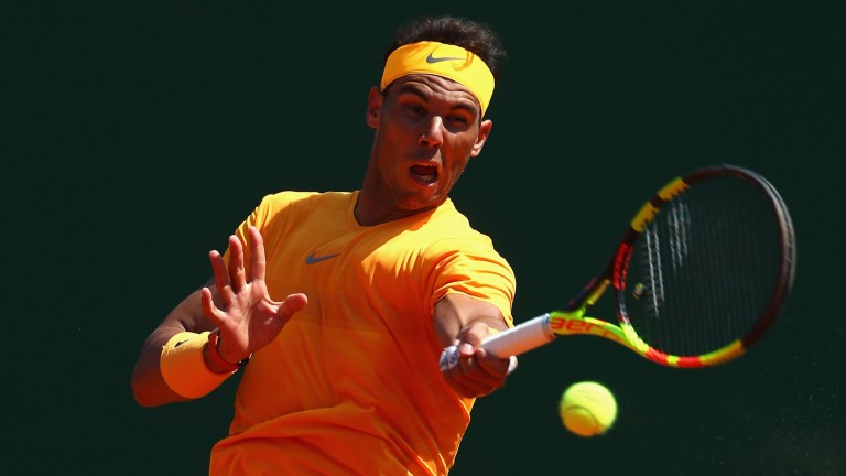Rafael Nadal destroyed Dominic Thiem in Monte Carlo