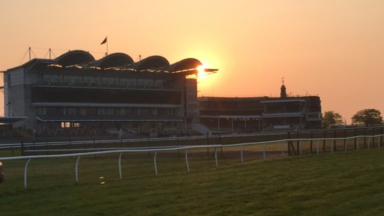 Racecourse Side was stunning at 6am