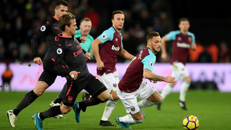 West Ham held Arsenal to a goalless draw in December's reverse fixture
