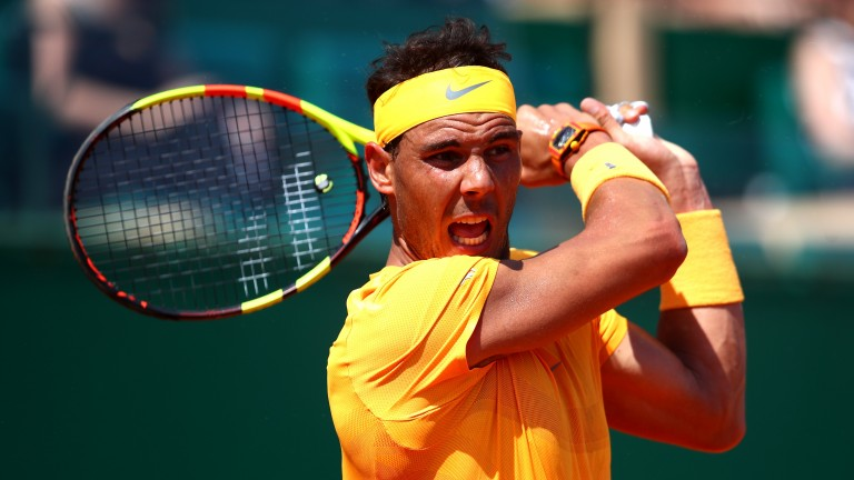 Rafael Nadal has been imperious in Monte Carlo