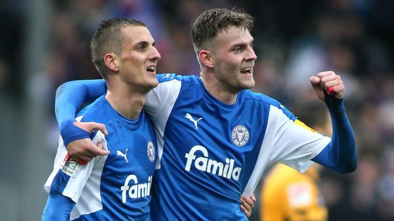 Dominick Drexler (left) and Marvin Ducksch are key threats for Holstein Kiel
