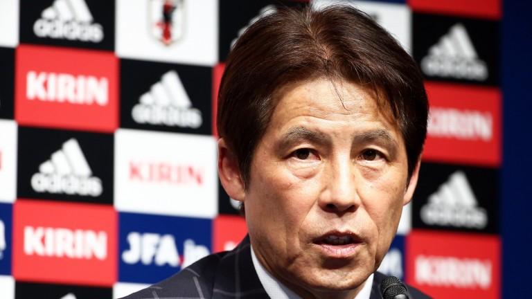 Japan's new head coach Akira Nishino