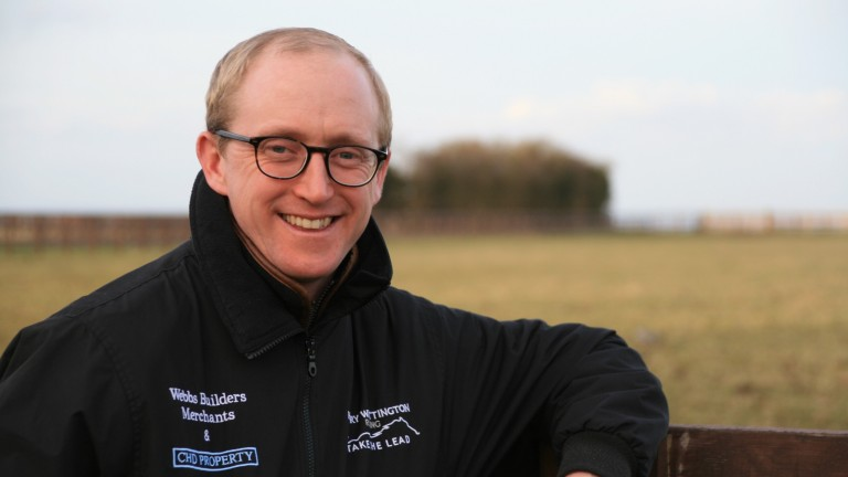 Harry Whittington: sends Vinnie Lewis back over hurdles