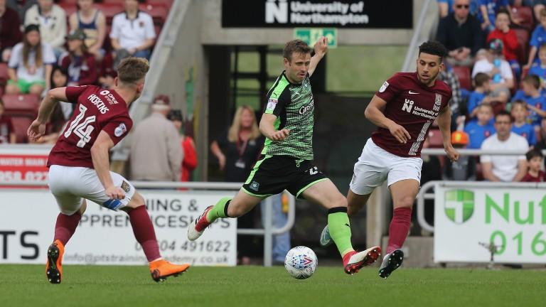 Plymouth midfielder David Fox
