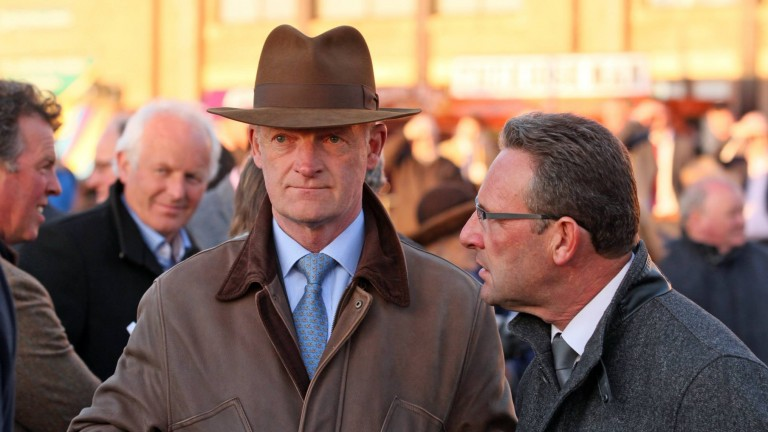 Willie Mullins: came out on top of a terrific battle with Gordon Elliott for the trainers' championship