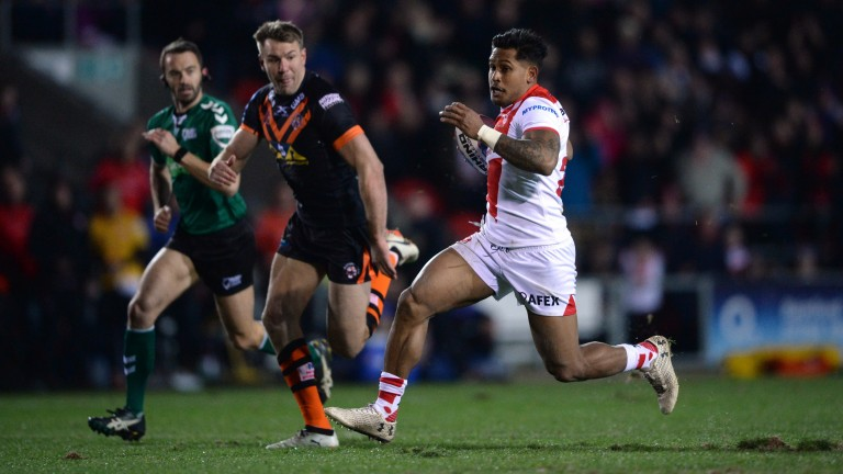 Ben Barba (right) has been superb for St Helens