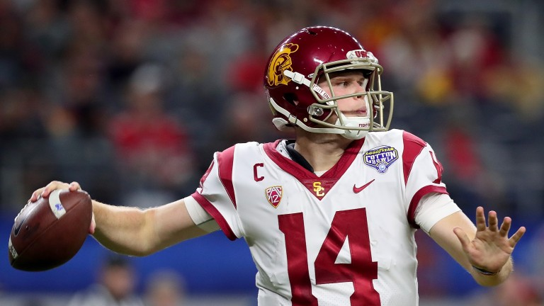 USC's Sam Darnold is favourite to be selected first in the NFL Draft
