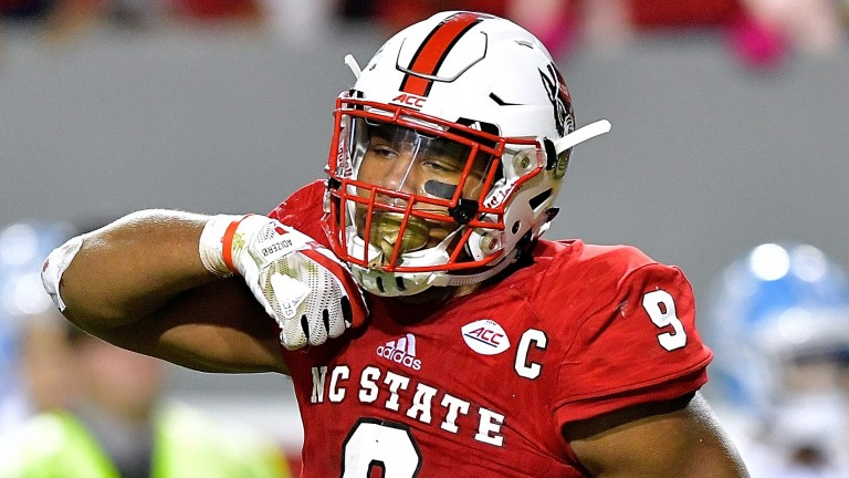 Bradley Chubb could go early in the first round of the NFL Draft