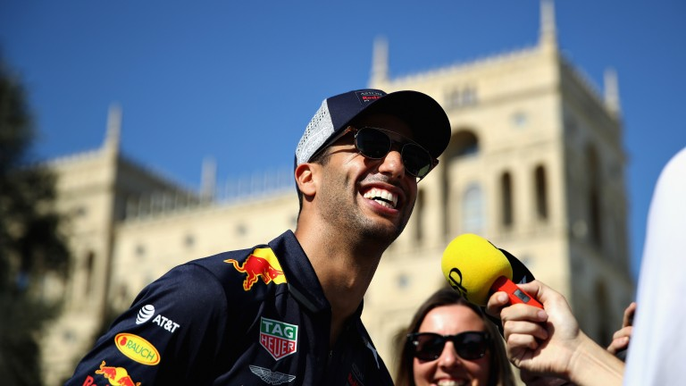 Daniel Ricciardo could have even more to smile about this week