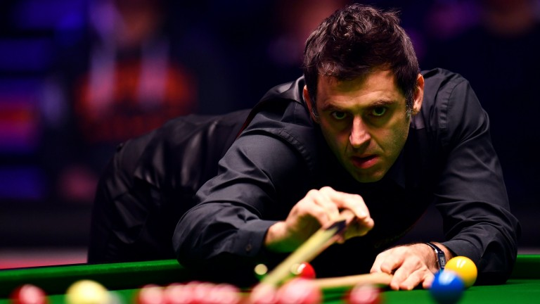 Ronnie O'Sullivan will hope to start better in his second outing