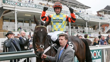 Nico de Boinville: set to be back on Might Bite in the Betfair Chase