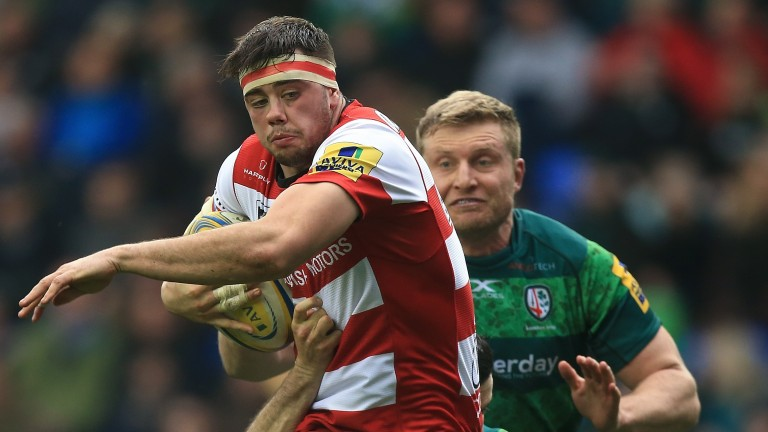 Gloucester flanker Lewis Ludlow has three tries to his name this season