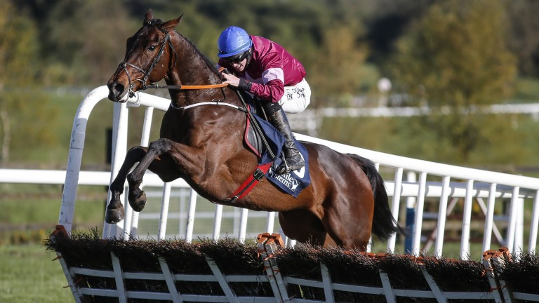 Dortmund Park produces a fine leap under Jack Kennedy