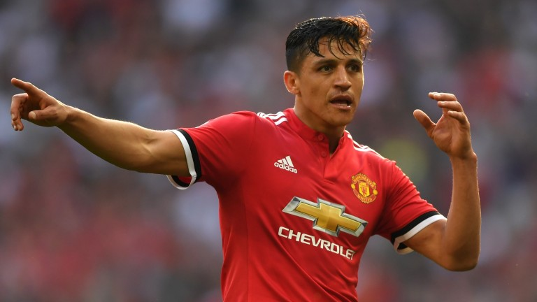Alexis Sanchez will be hoping to get one over his former club at Old Trafford