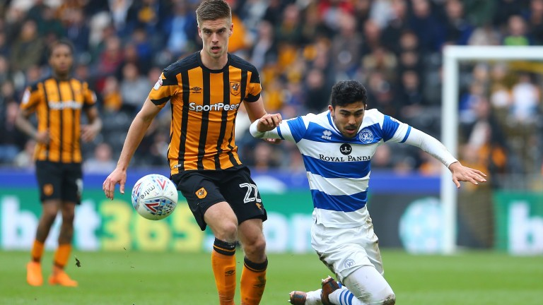 QPR will be without Massimo Luongo (right) against Birmingham