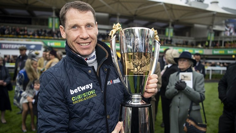 Richard Johnson: champion jockey thinks he is going to be pushed hard in the title race this season