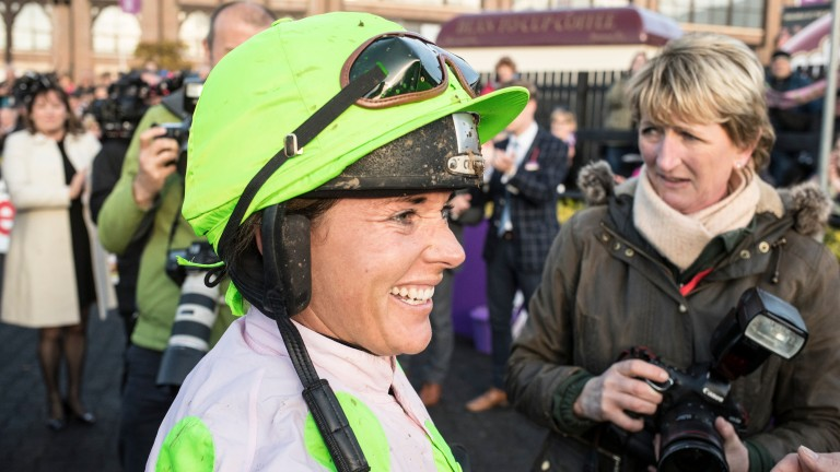 Katie Walsh retires from race riding after winning on Antey for Willie Mullins