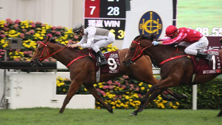 Ivictory holds on for a big win at Sha Tin on Sunday