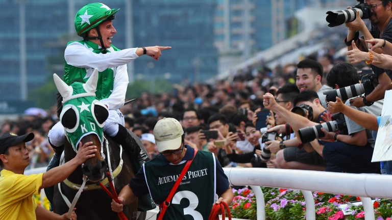 Pakistan Star: one of the most popular and talented horses in Hong Kong