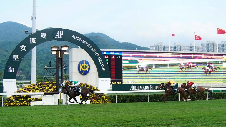 Sha Tin: race on Sunday