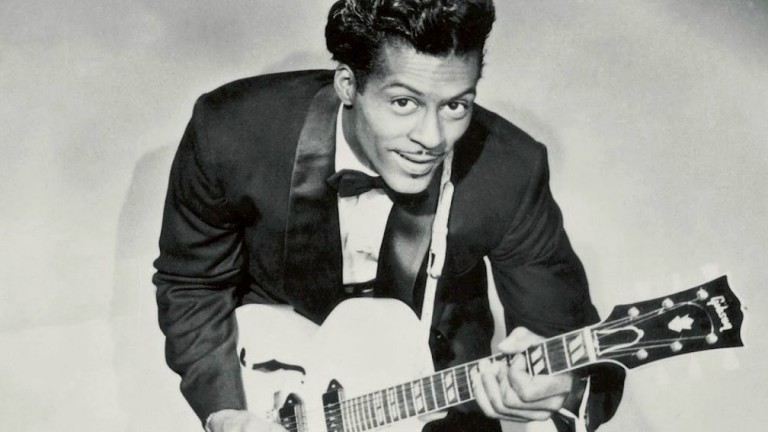 Rock and roll legend Chuck Berry