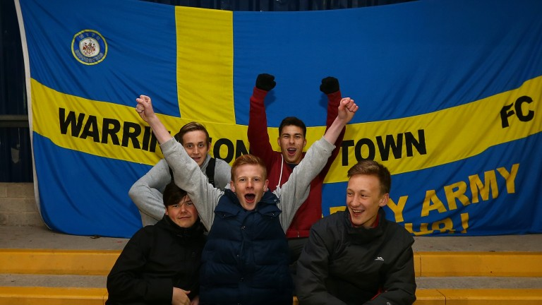 Warrington fans will be looking forward to their home semi-final against Grantham