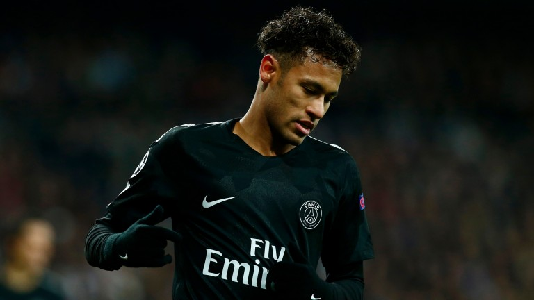 Paris St-Germain superstar Neymar