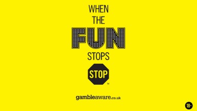 When the fun stops advert