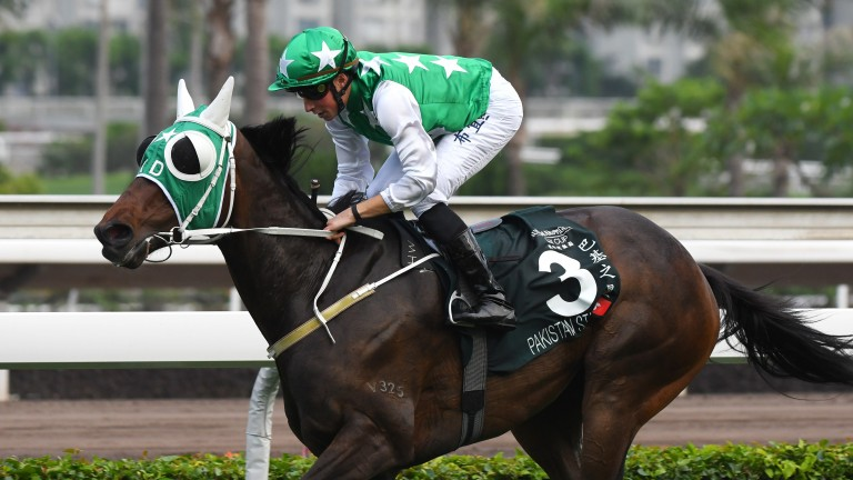 Pakistan Star claims victory on Champions Day at Sha Tin racecourse