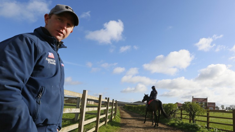 David O'Meara: trainer of potential Royal Hunt Cup runner Escobar