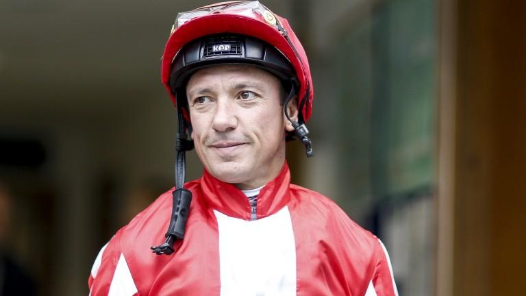 Frankie Dettori: back in the saddle on Thursday